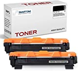 SMARTOMI, confezione da 2, cartucce toner nero TN1050 compatibili con Brother TN1050 per uso con stampanti Brother serie HL-1110 HL-1112 HL-1212 HL-1210 DCP-1510 DCP-1610 DCP-1612 1512 MFC-1810 1910