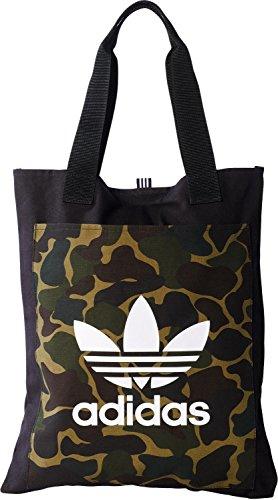 adidas Shopper Camo Tasche, Schwarz-(Negro, NS (Shopper 17)