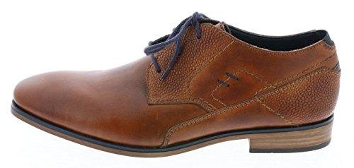 Rieker 10634 Chaussures de ville homme amaretto/navy / 26