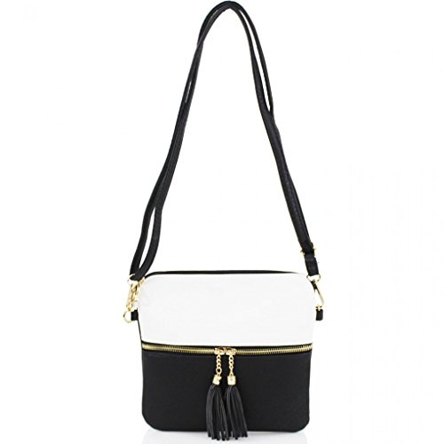 leahwardr-womens-small-faux-leather-tassel-cross-body-handbags-nice-bags-black-white-large-h25cm-x-w
