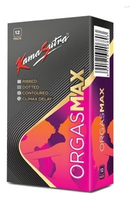 Kama Sutra 4 in 1 Orgasmax Condoms - 12 Count
