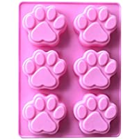 3D-Zuckergussform für Kuchen Fangdan Schokolade Katze Hund Kralle Dekoration Silikon Form DIY Pudding Cookie Seife Supplies