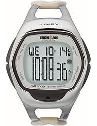 Timex T5J661SU - Reloj digital de cuarzo unisex con correa de resina, color beige