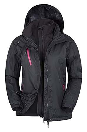 mountain warehouse veste bracken extreme 3 en 1 pour femmes imperm able imperm able respirant. Black Bedroom Furniture Sets. Home Design Ideas