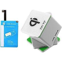 Mxnet Magic Box QI Cargador inalámbrico titular del coche y receptor de carga inalámbrico para Note4 N9100 Fundas