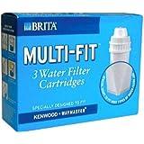 BRITA Multifit Water Filter Cartridge - 3 Pack