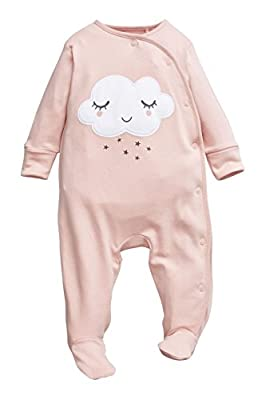 next Bebé Niña Pack De Dos Pijamas Tipo Pelele Nubes Con Diadema (0 Meses-2 Años) Estándar