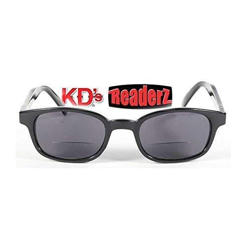KDS Brille kd' S Sonnenbrille für presbytes-readerz Smoke Biker Korrektur + 1,50