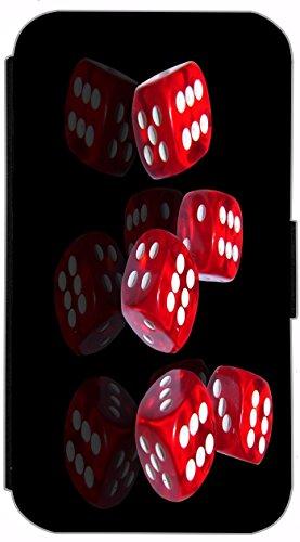 Flip Cover für Apple iPhone 6 / 6S (4,7 Zoll) Design 600 Flagge Amarika USA Rot Weiß Blau Hülle aus Kunst-Leder Handytasche Etui Schutzhülle Case Wallet Buchflip mit Bild (600) 598