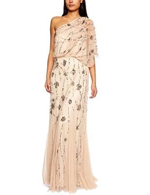 Adrianna Papell Women's One Shoulder Maxi Dress
