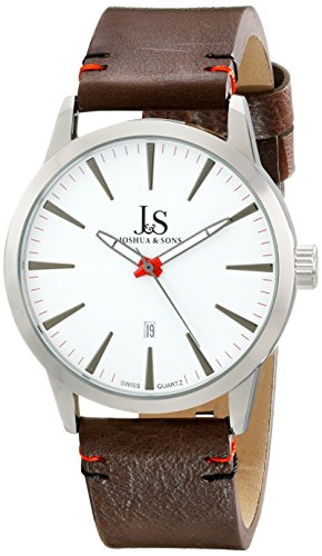 Joshua & Sons Reloj con Movimiento Cuarzo Suizo Man 41.5 mm
