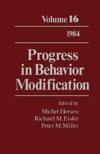 Progress in Behavior Modification: Volume 16
