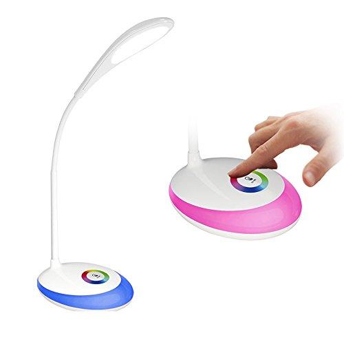 HEIMDALL led lampe touch led lampe für augenschutz 3 ebenen dimmer helligkeit einstellbare beleuchtungskörper schreibtisch beleuchtung leselampe licht zum lesen rezeption lichtschreibtisch licht led nachtlicht Schreibtischlampen