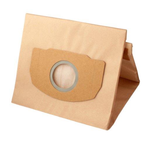 Preisvergleich Produktbild Menalux 4891P, 3 Staubsaugerbeutel / Papier / passend für Kärcher WD 4, WD 5