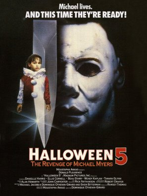 HALLOWEEN 5 - US Imported Movie Wall Poster Print - 30CM X 43CM Brand New
