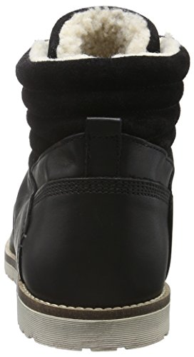 Bianco Warm Cas. Boot Son16, Bottes courtes avec doublure chaude homme Noir - Schwarz (Black/10)
