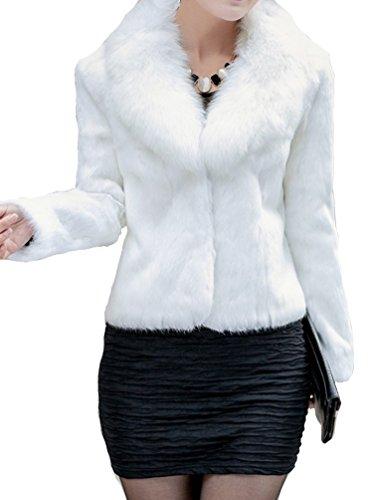 helan-womens-short-slim-faux-fox-collar-and-faux-rabbit-fur-coat-white-uk-12-14