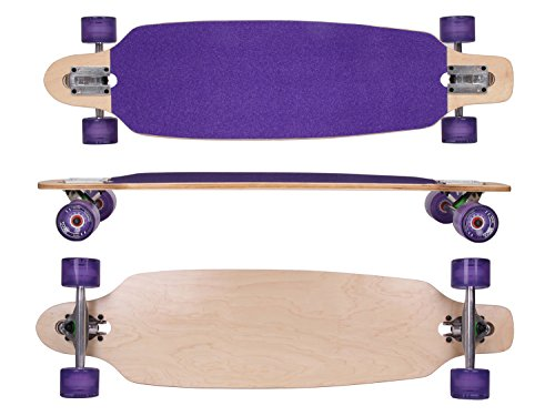 MAXOFIT® DELUXE TABLA LARGA - LONGBOARD ROXY NO 26  DROP THROUGH  91 5 CM  9 CAPAS  ABEC11
