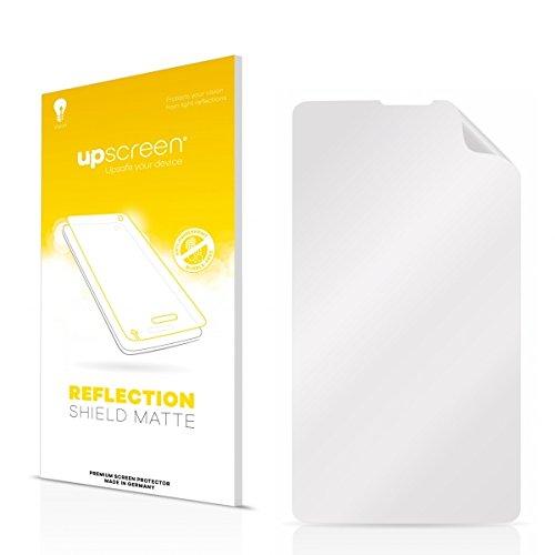 upscreen Reflection Shield Matte Displayschutz Schutzfolie ZTE Open C (Matt und entspiegelt, Anti-Fingerprint, Blasenfreie Montage, Passgenauer Zuschnitt)