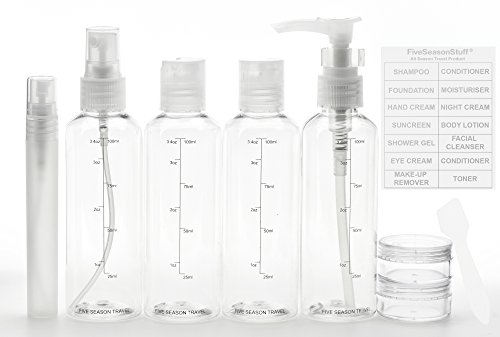 fiveseasonstuffr-ensemble-8-pieces-de-100ml-trousse-de-toilette-aeroport-vacances-voyages-aeriens-bo