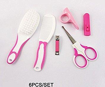 Baby-Gesundheitspflege-Set, erstes Pflege-Set, Baby-Nagelpflege, praktischer Klipper, Baby-Bürste für den täglichen Gebrauch