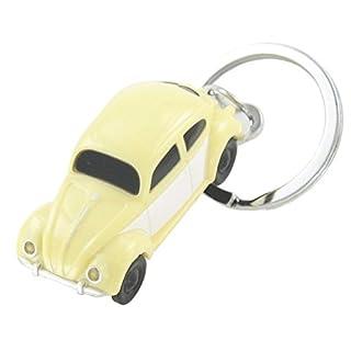Volkswagen VW Beetle 1: 87in Beige Boxer LED Light Key Ring