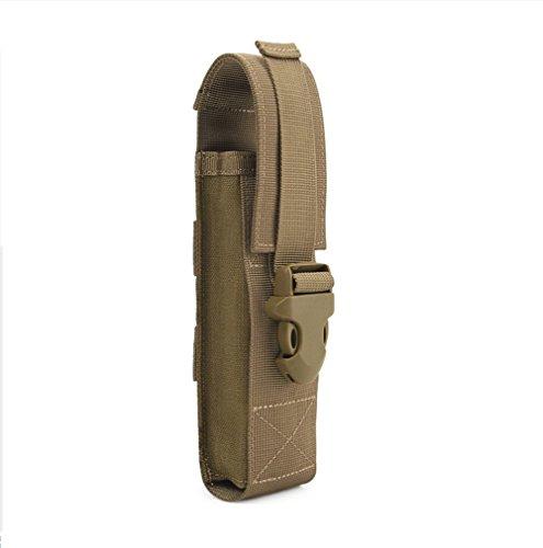 MOLLE Taschenlampe Holster Tactical Werkzeugtasche Torch Waist Pouch -