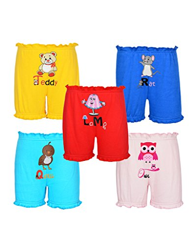 Gkidz Pack of 5 My things and Pets Theme Bloomers