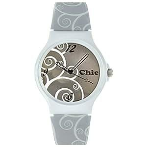 Teenie-Weenie Chic-Watches - Floral - montres pour femmes et enfants avec bracelet en plastique - UC025