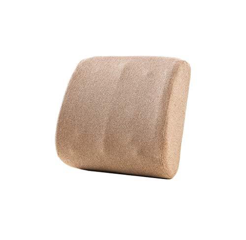 EU8 Mode Kissen Einfache Stil Büro Bambuskohle Memory Foam Pad schwangere Frauen Sitz Depression Design Kissen Autositz Button-Typ Kissen (Color : A, Größe : Large) (Pillen Depression Für Frauen)