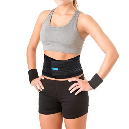 Tooca Bauchweggürtel Bauchgürtel, Schwitzgürtel Damen & Herren - Hot Belt Hot Sauna Belt Einfach Abnehmen mit dem Fitnessgürtel