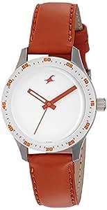 Fastrack Analog White Dial Women's Watch - 6078SL04