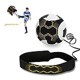 Haolgo Kick Trainer - Pallone da Calcio con Cintura Regolabile per Allenamento, per Principianti