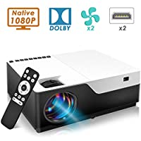 ‏‪200inch 1920x1080 1080P FULL HD LED Video Projector with HDMI USB For Game Movie Cinema Home Theater‬‏