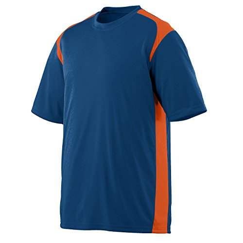 Augusta Herren T-Shirt Mehrfarbig - Marine/Orange