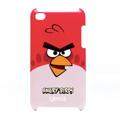 Gear4 Angry Birds Schutzhülle für Apple iPod touch 4G rot Angry Birds Iphone