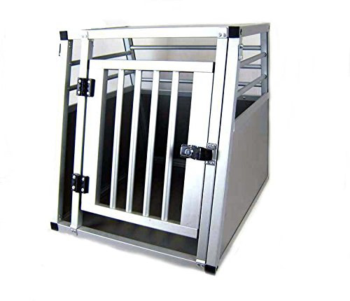 ACMax Hundebox Transportbox Aluminium 50 x 60 x 55cm Hundetransportbox Gr. XS