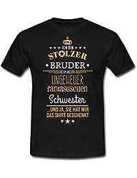 Stolzer Bruder Einer Fantastischen Schwester Männer T-Shirt von Spreadshirt®