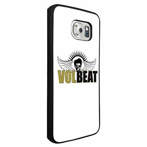 Volbeat Band Logo Samsung Galaxy S6 Edge Custodia Rock Volbeat Custodia for Galaxy S6 Edge TPU Custodia For Boys