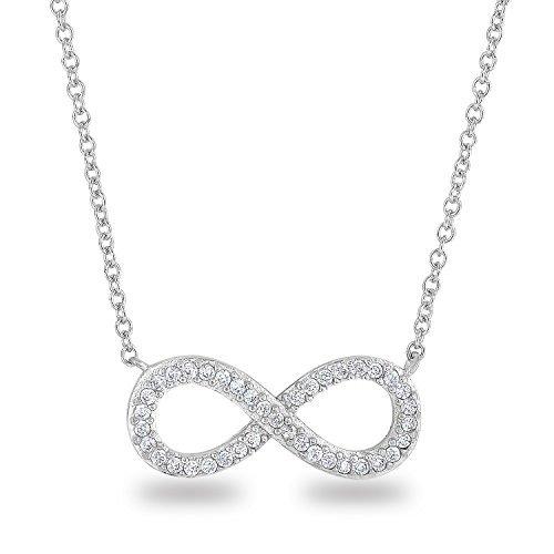 rhodium-plaqu-argent-sterling-925cz-faux-diamant-symbole-infini-forme-classique-chane-collier-457cm