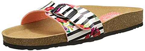 Chaussures Desigual - Desigual Bio1 Flores et Rayas, Mules Femme,