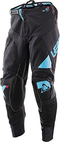 Pantalon Leatt GPX 4.5 Schwarz/bleu, Schwarz Blu, S