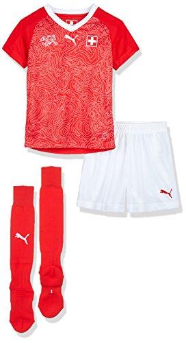 PUMA Herren Suisse Home Minikit Packs/Kits, Red White, 104