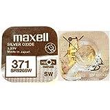 Maxell® SR 920 SW (371) Silberoxid Mikrobatterien