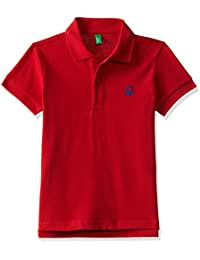 United Colors of Benetton Baby Boys' Regular Fit Plain Polo