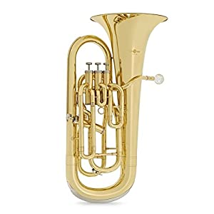 4 Valve Euphonium by Gear4music