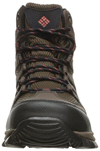 Columbia Gunnison, Chaussures de Randonnée Hautes Homme Cordovan/Sanguine