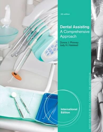 Dental Assisting: A Comprehensive Approach, International Edition (Book & CD)