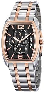 Festina F6758/5 - Reloj cronógrafo de cuarzo para hombre con correa de acero inoxidable, color multicolor de Festina