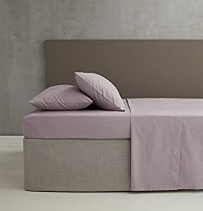Catherine Lansfield Easy Iron Percale Fitted Sheet